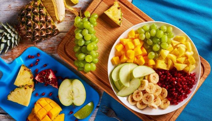 comer frutas - opção