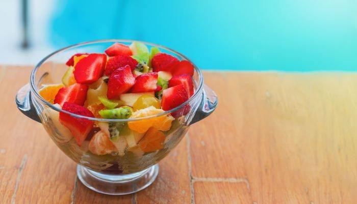 comer frutas - salada de frutas