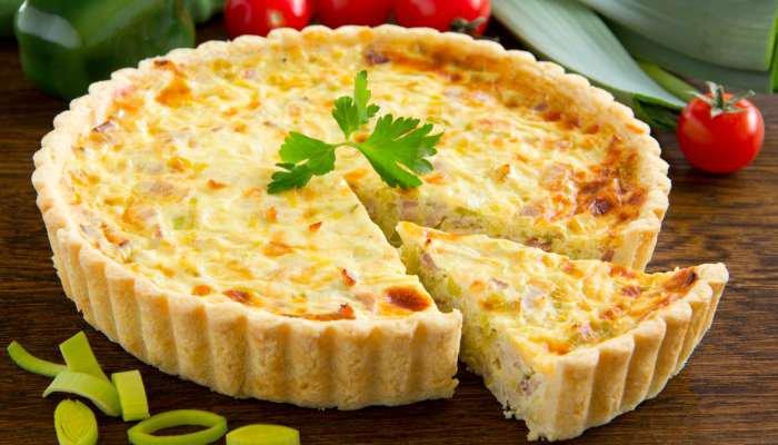 comida vegetariana - quiche