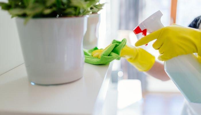 limpeza da casa - economizar água