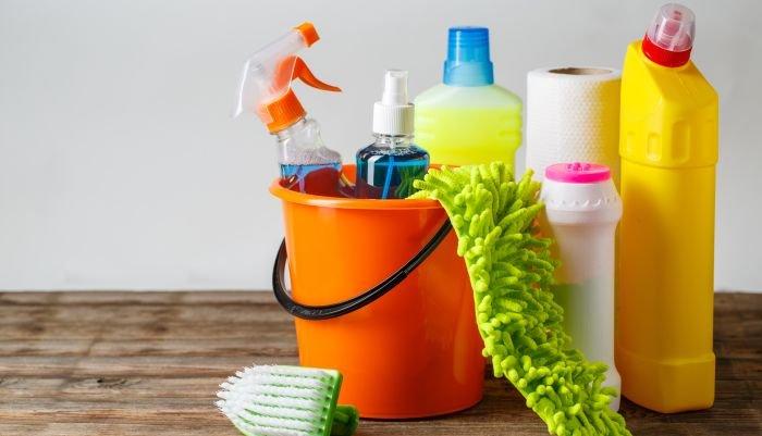 limpeza da casa - produtos concentrados