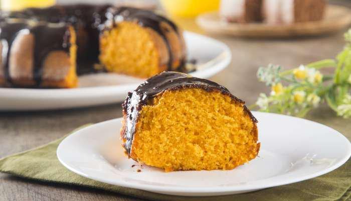 receitas de bolo - cenoura
