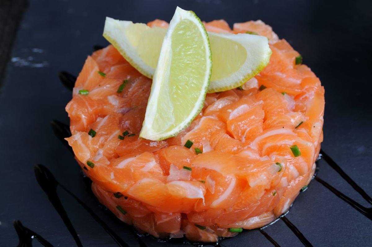 tartar de salmão - capa