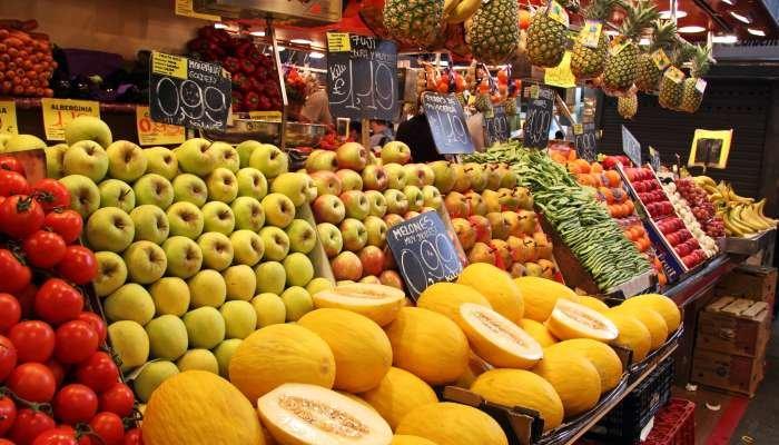 alimentação sustentável - compras locais