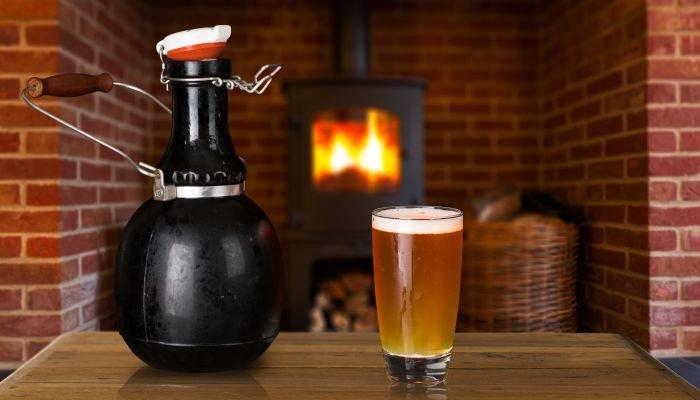 growler para cerveja copo