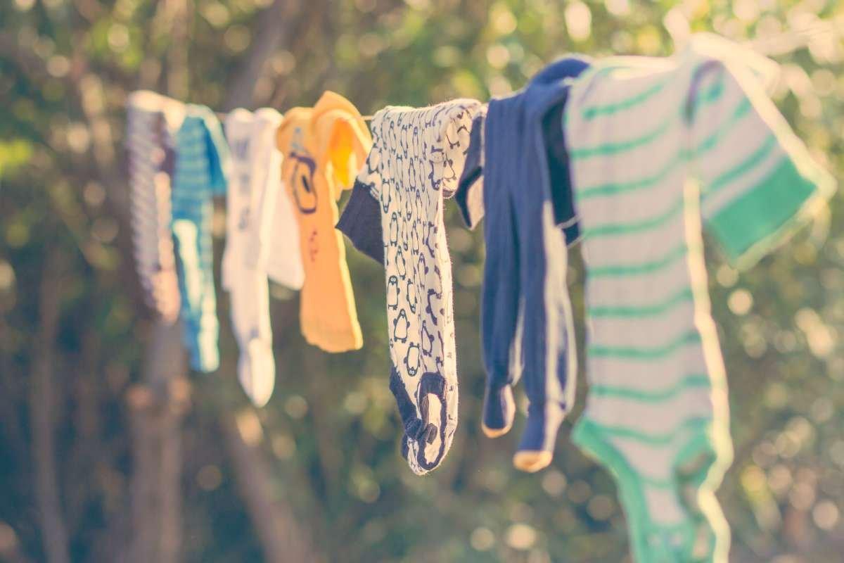 lavar a roupa do bebê - capa