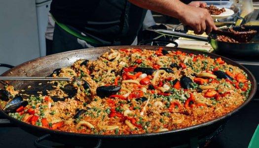 Paella e espumante Club des Sommeliers