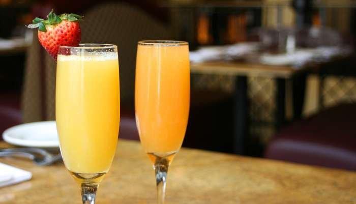 drinks de natal - mimosa