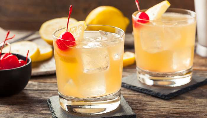 drinks de natal - whisky sour
