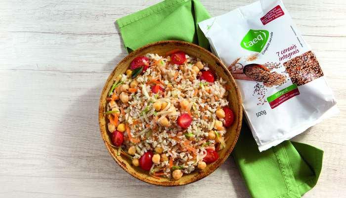 acompanhamentos para a ceia de natal - arroz 7 grãos