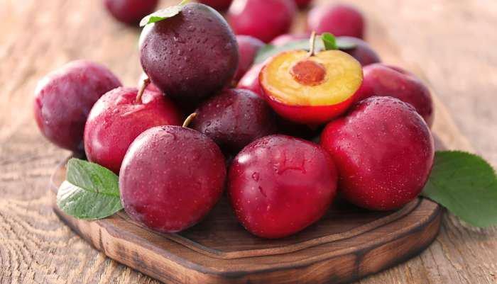 frutas da estação - ameixa