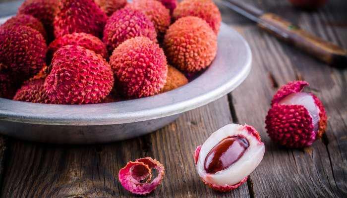 frutas da estação - lichia