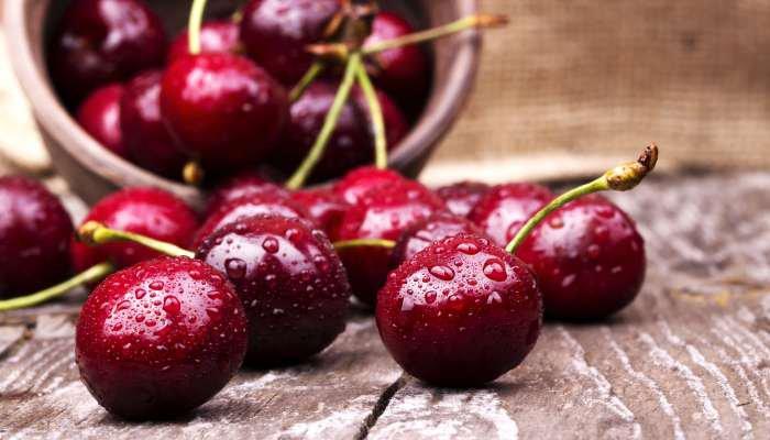 frutas da estação natal - cereja