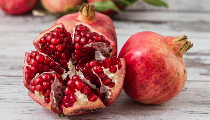 frutas da estação - romã