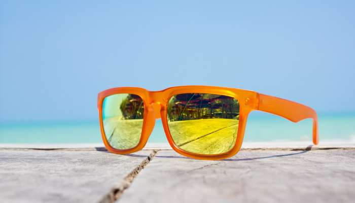 bolsa de praia - óculos