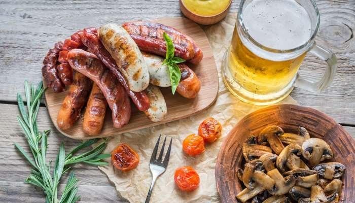 cerveja e churrasco - acompanhamento