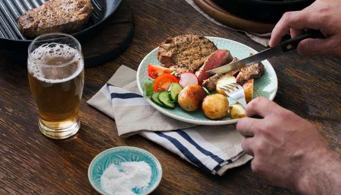 cerveja e churrasco - carnes
