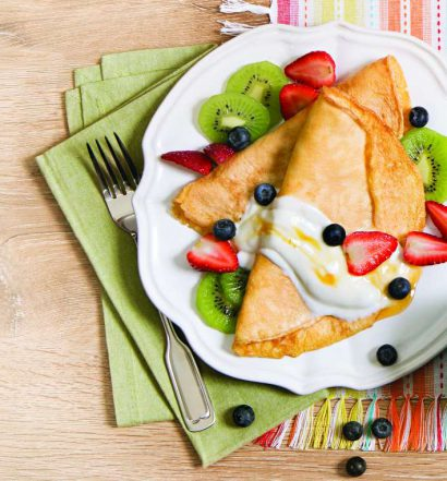 crepioca com frutas - capa