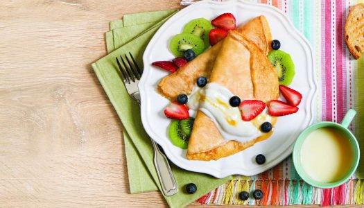 [Receita] Crepioca com frutas