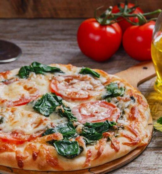pizza de espinafre - capa