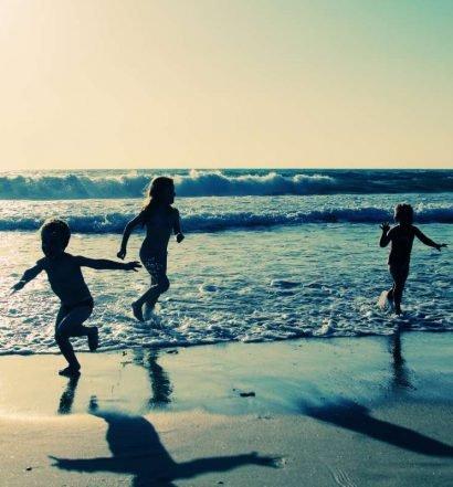 praia com crianças - capa