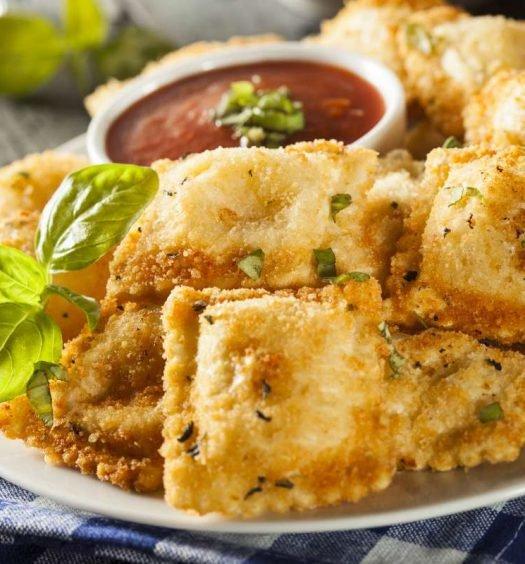 raviolli frito - capa