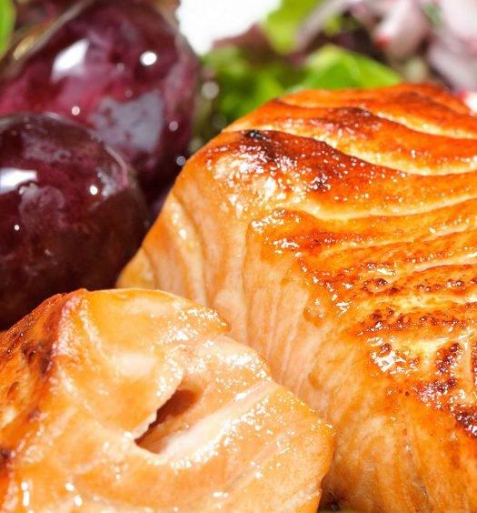 salmão assado com uvas - capa