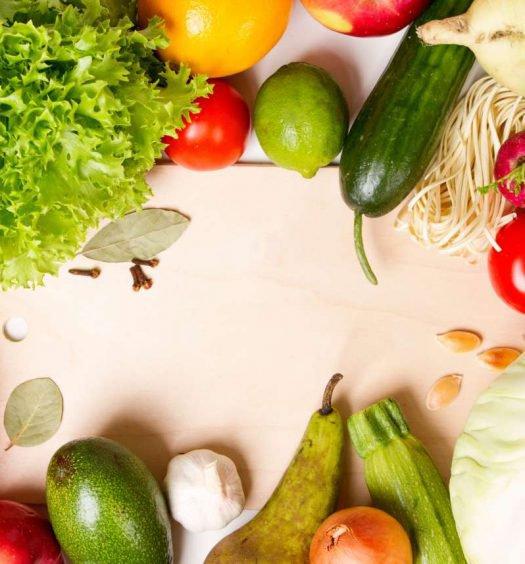 frutas, legumes e verduras de fevereiro