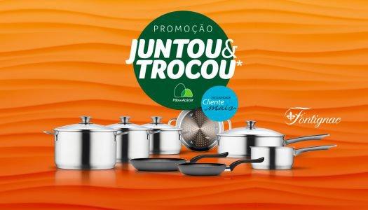 Promoção Juntou & Trocou* 2018: Ganhe mais selos levando para a casa produtos aceleradores!