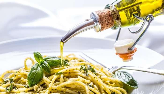 azeite combina com o que - massa