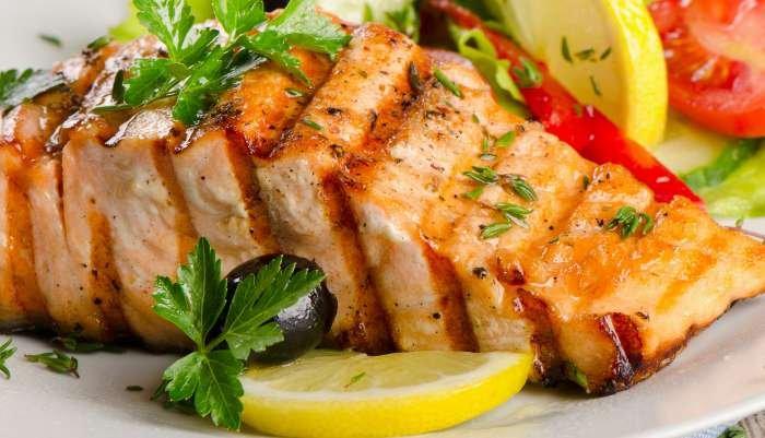 harmonização de vinhos e peixes - salmão