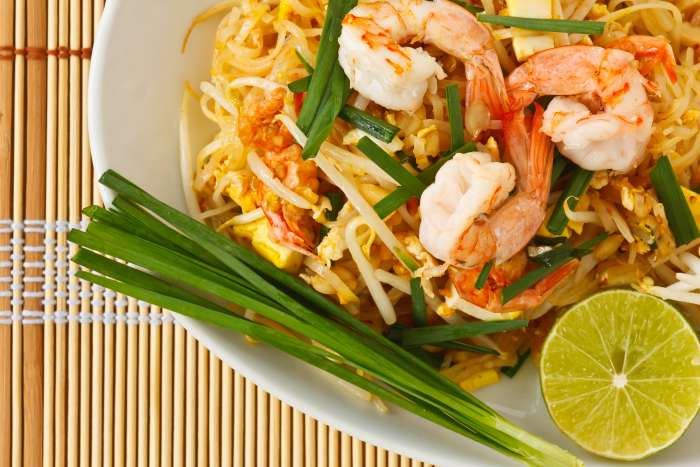 pad thai - receita