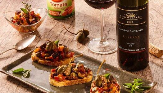 [Receitas] Bruschetta Siciliana
