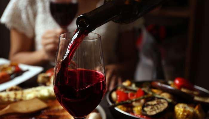 benefícios do vinho - taça