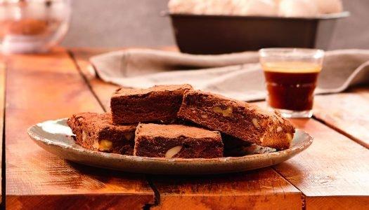 [Receita] Brownie de café e chocolate meio amargo