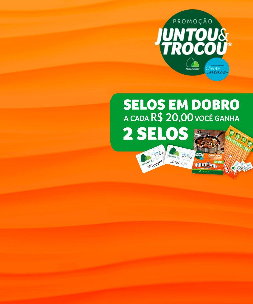Promoção Juntou & Trocou*: Presenteie sua mãe e ganhe selos em dobro nas suas compras!