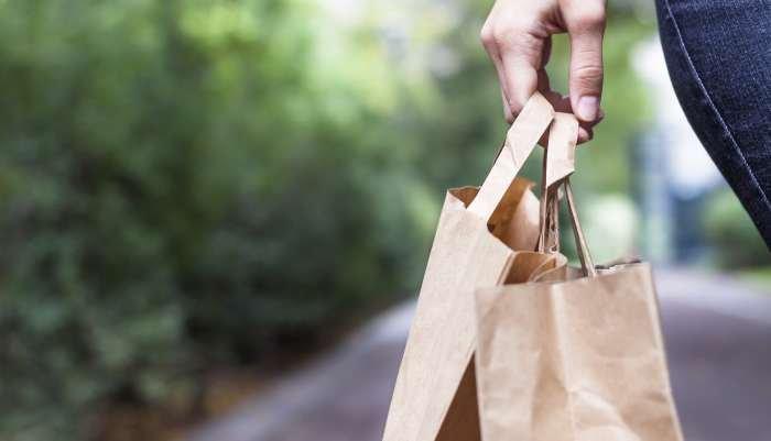 compras de supermercado - sacola