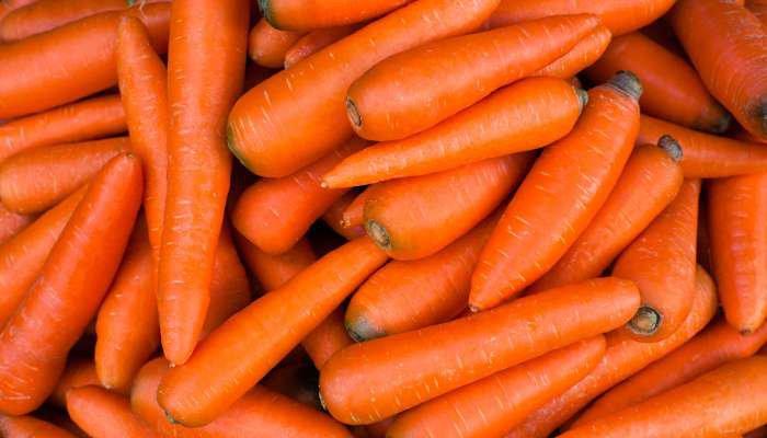frutas, legumes e vegetais de maio - cenoura