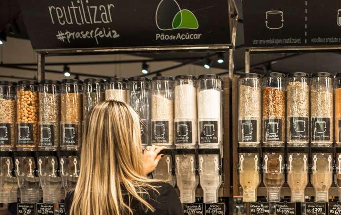 produtos a granel - reutilizar pra ser feliz
