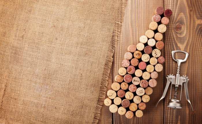 rolha de vinho - decoração