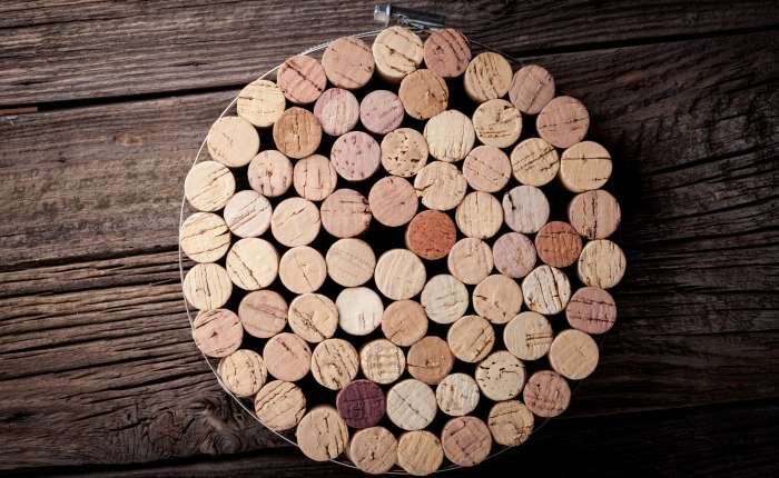 rolha de vinho - descanso