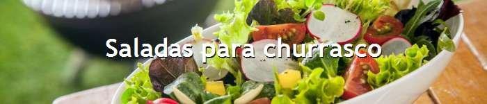 saladas para acompanhar o churrasco