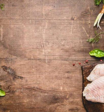 carne de peixe - capa