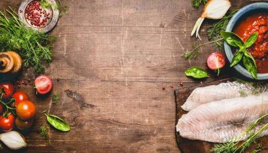 Quais as características nutricionais de uma carne de peixe?