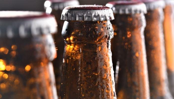 como gelar cerveja rápido água