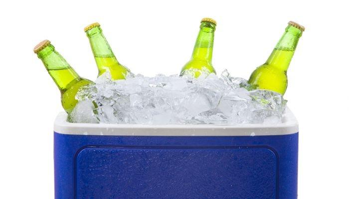 como gelar cerveja rápido cooler