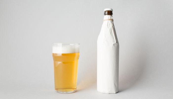 como gelar cerveja rápido papel