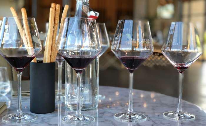 degustação de vinhos - texto