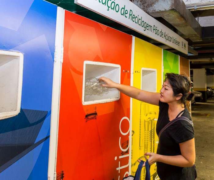 estação de reciclagem pão de açúcar unilever - texto 4