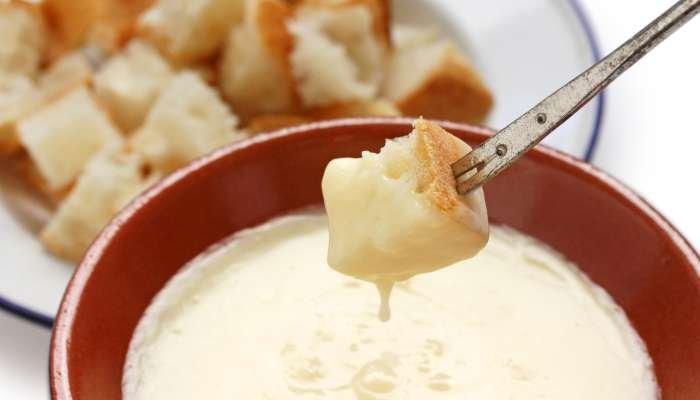 fondue de queijo minas - texto